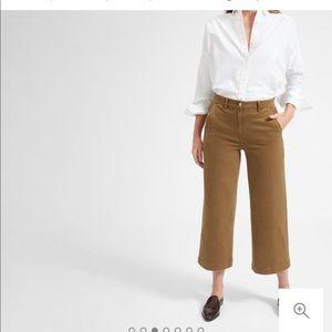 The Wide Leg Crop Pant